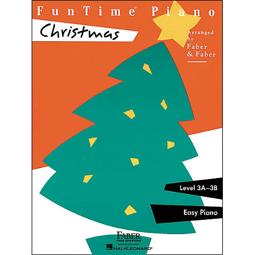 Faber Piano Adventures Funtime Piano Christmas Level 3A-3B Easy Piano - Faber Piano-thumbnail