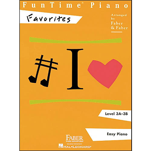 Faber Piano Adventures Funtime Piano Favorites Book Level 3A-3B Easy Piano - Faber Piano-thumbnail