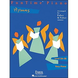 Faber Piano Adventures Funtime Piano Hymns Level 3A-3B Easy Piano - Faber P... by Faber Piano Adventures