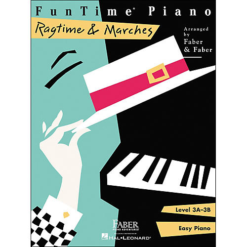 Faber Piano Adventures Funtime Piano Ragtime And Marches Level 3A-3B Easy Piano - Faber Piano-thumbnail