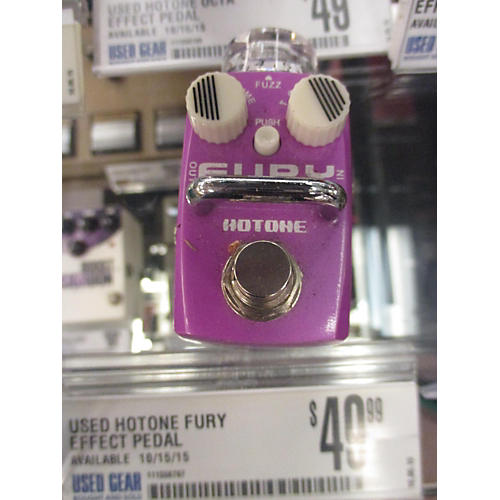 In Store Used Fury Effect Pedal