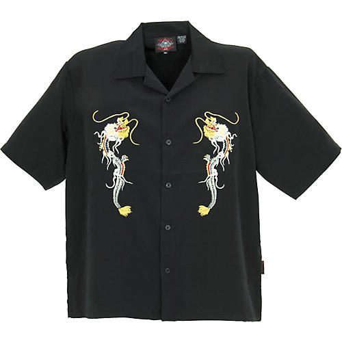 Dragonfly Clothing Company Fury Embroidered Woven Shirt-thumbnail