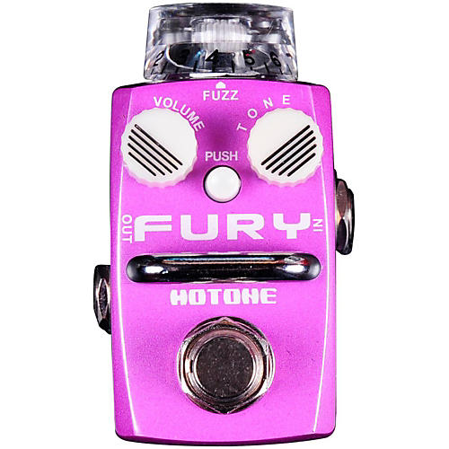 Hotone Effects Fury Fuzz Skyline Series Guitar Effects Pedal-thumbnail
