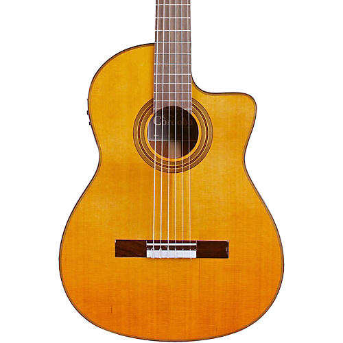 Cordoba Fusion 12 Natural Cedar Classical Electric Guitar-thumbnail
