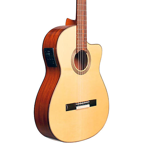 Cordoba Fusion 12 Natural Spruce Classical Electric Guitar Natural Spruce Top