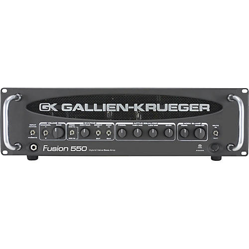 Gallien-Krueger Fusion 550 Hybrid Valve Bass Amplifier-thumbnail