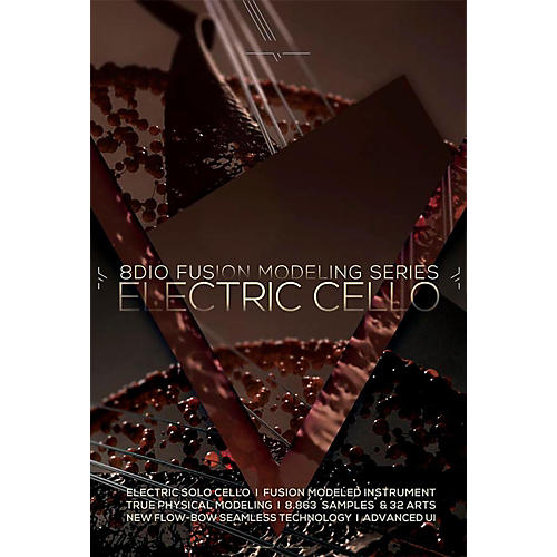 8DIO Productions Fusion Modeling Series: Electric Cello-thumbnail