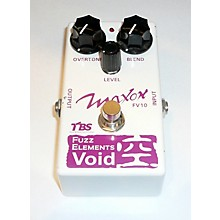 Maxon Fuzz Elements Void Effect Pedal