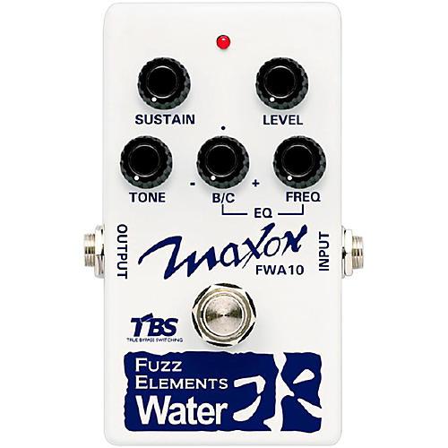 Maxon Fuzz Elements Water Guitar Fuzz Pedal-thumbnail