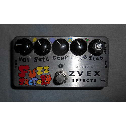 Zvex Fuzz Factory Effect Pedal-thumbnail