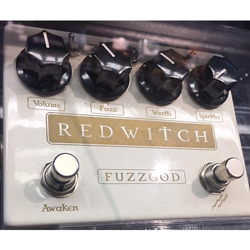 Red Witch Fuzz God II Effect Pedal-thumbnail
