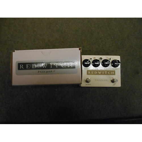 Red Witch Fuzz God II White Effect Pedal-thumbnail