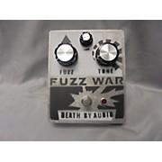 Death By Audio Fuzz War Effect Pedal