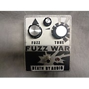 Death By Audio Fuzz War Effect Pedal