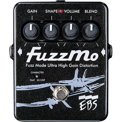 EBS FuzzMo Ultra High Gain Distortion Guitar Effects Pedal