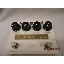 Red Witch Fuzzgod Effect Pedal
