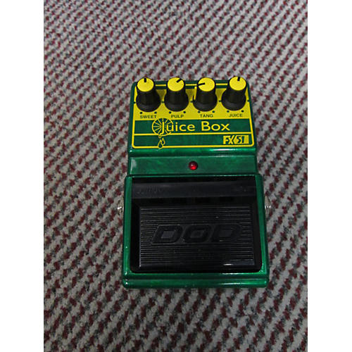 DOD Fx51 Juice Box Emerald Green Effect Pedal