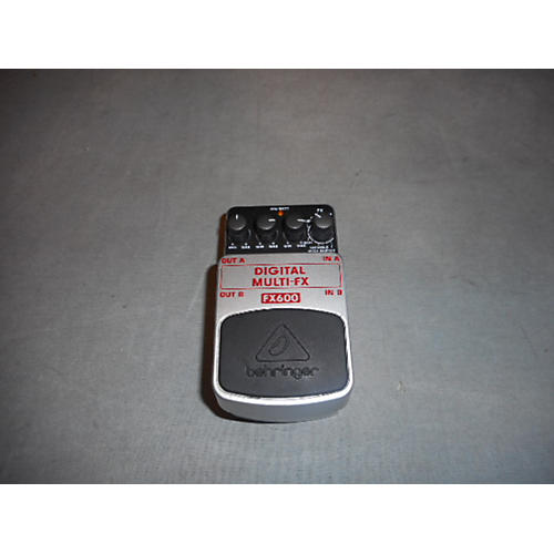 Behringer Fx600 Black And Silver Effect Processor-thumbnail