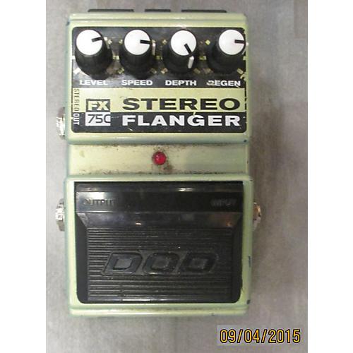 DOD Fx750 Stereo Flanger Effect Pedal-thumbnail