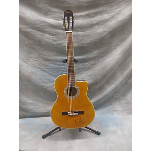 In Store Used G-100 Classical Acoustic Electric Guitar-thumbnail