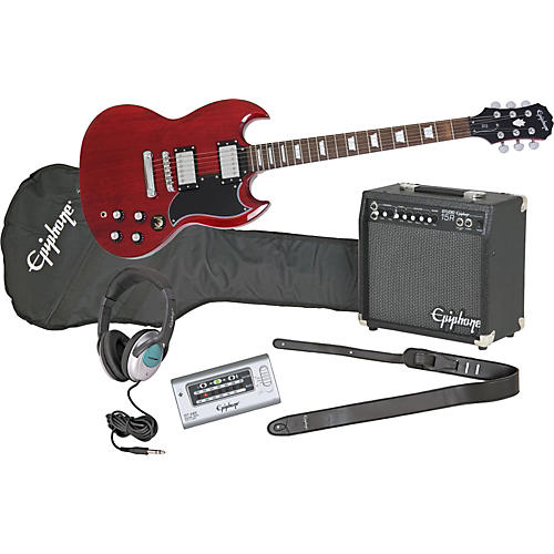 Epiphone G-400 Electric Guitar and All Access Amp Pack-thumbnail