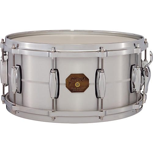 Gretsch Drums G-4000 Aluminum Snare Drum 14 x 6.5 in.-thumbnail