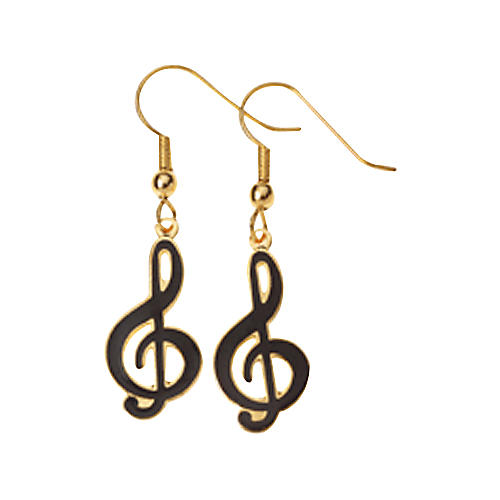 AIM G-Clef Earrings-thumbnail