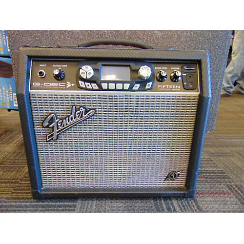Fender G Dec 3 Fifteen 15W 1X8 Guitar Combo Amp