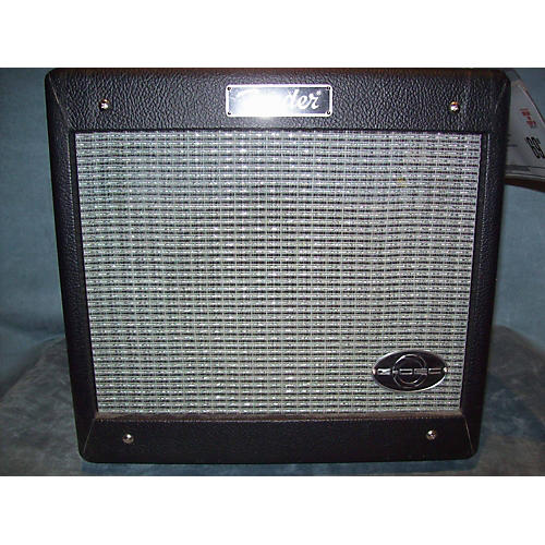 Fender G Dec Jr 15W 1X8 Black And Silver Guitar Combo Amp Black and Silver