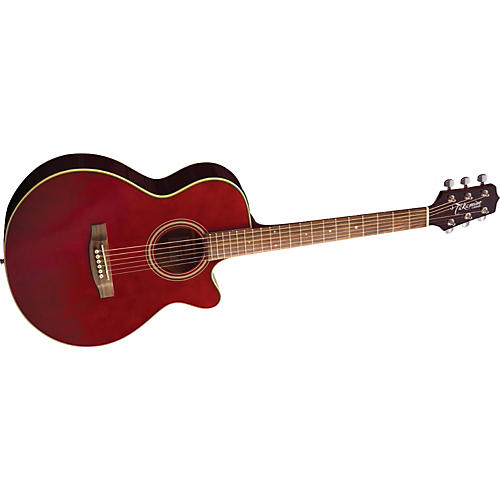 Takamine G FXC EG260C Acoustic-Electric Guitar Wine Red