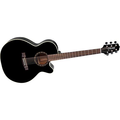 Takamine G NEX EG481SCX Black Chain Acoustic-Electric Guitar