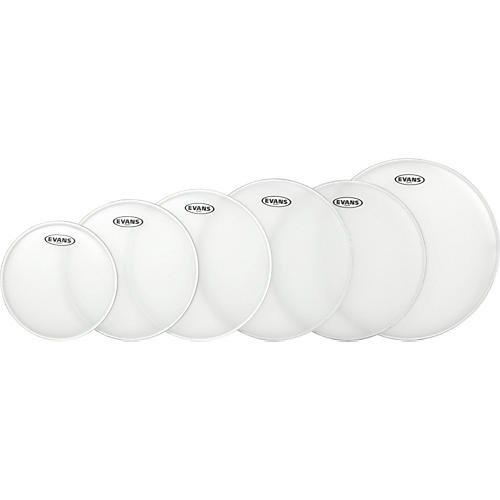Evans G Plus Coated 5-Piece Standard Drumhead Set with Free 14