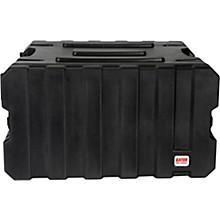 Gator G-Pro Roto Mold Rolling Rack Case Level 1 Black 6 Space
