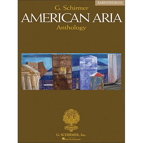 G. Schirmer G Schirmer American Aria Anthology Baritone / Bass Voice-thumbnail