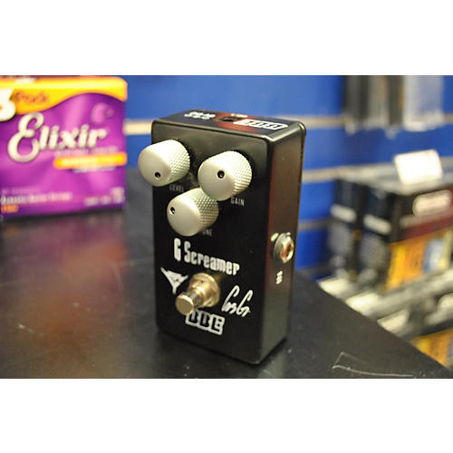 BBE G Screamer OG1 Gus G Signature Overdrive Effect Pedal-thumbnail