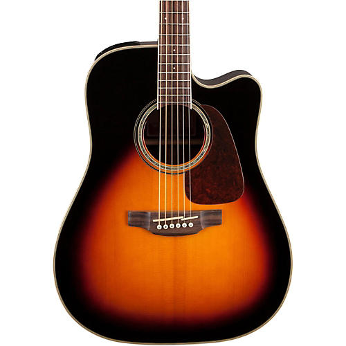 Takamine G Series Dreadnought Cutaway Acoustic-Electric Guitar Gloss Sunburst