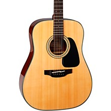 Takamine G Series Dreadnought Solid Top Acoustic Guitar Level 1 Gloss Natural