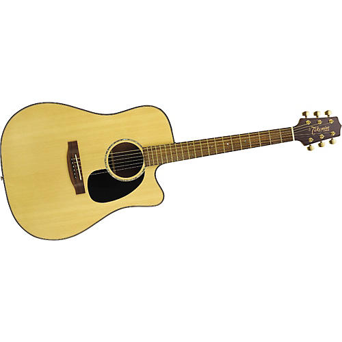 Takamine G Series EG340SC Cutaway Dreadnought Acoustic-Electric Guitar Natural