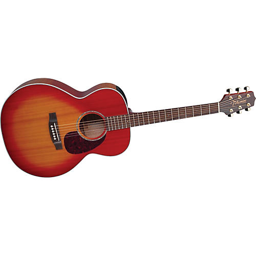 Takamine G Series EG430S New Yorker Flame Mahogany Acoustic-Electric Guitar