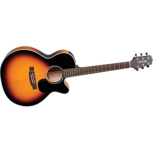Takamine G Series EG450SM NEX Acoustic-Electric Guitar with Solid Spruce Top Sunburst