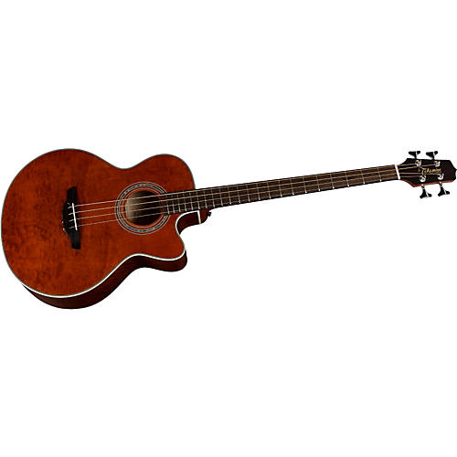 Takamine G Series EG512CGA Jumbo Quilted Maple Acoustic-Electric Bass Guitar-thumbnail