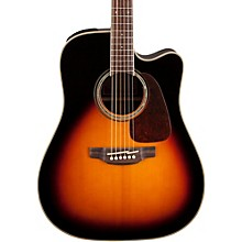 Takamine G Series GD71CE Dreadnought Cutaway Acoustic-Electric Guitar Level 1 Gloss Sunburst