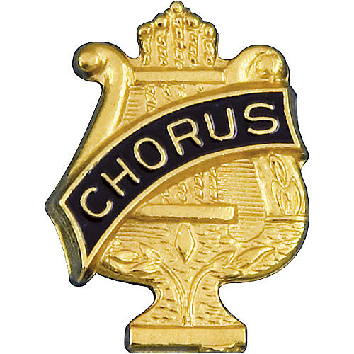 Award Emblem G Series Lyre Award Pin