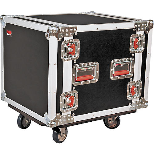 Gator G-Tour 10U Cast Rack Road Case with Casters-thumbnail