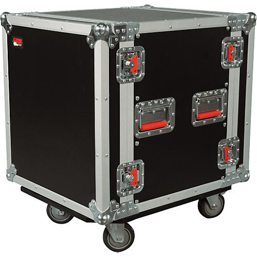 Gator G-Tour 12U ATA Cast Rack Road Case with Casters