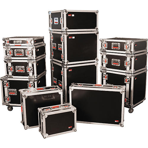 Gator G-Tour Rack Road Case with Casters-thumbnail