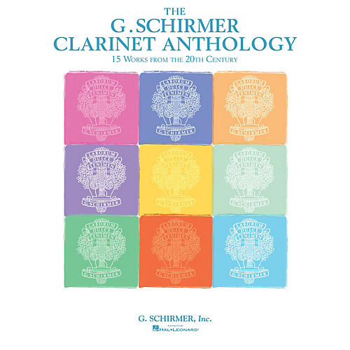 G. Schirmer G. Schirmer Clarinet Anthology (Works from the 20th and 21st Centuries) Woodwind Series Softcover