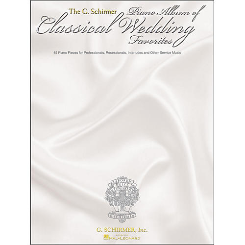 G. Schirmer G. Schirmer Piano Album Of Classical Wedding Favorites-thumbnail