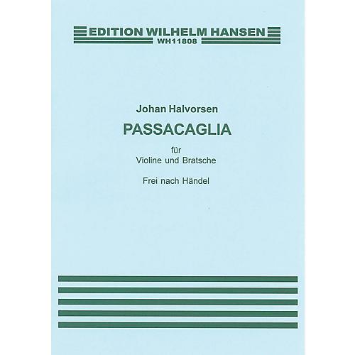 Music Sales G.F. Handel/Johan Halvorsen: Passacaglia In G Minor For Violin And Viola (Score/Pts) Music Sales America