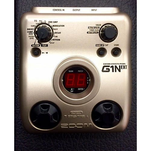 Zoom G1 NEXT Effect Processor-thumbnail